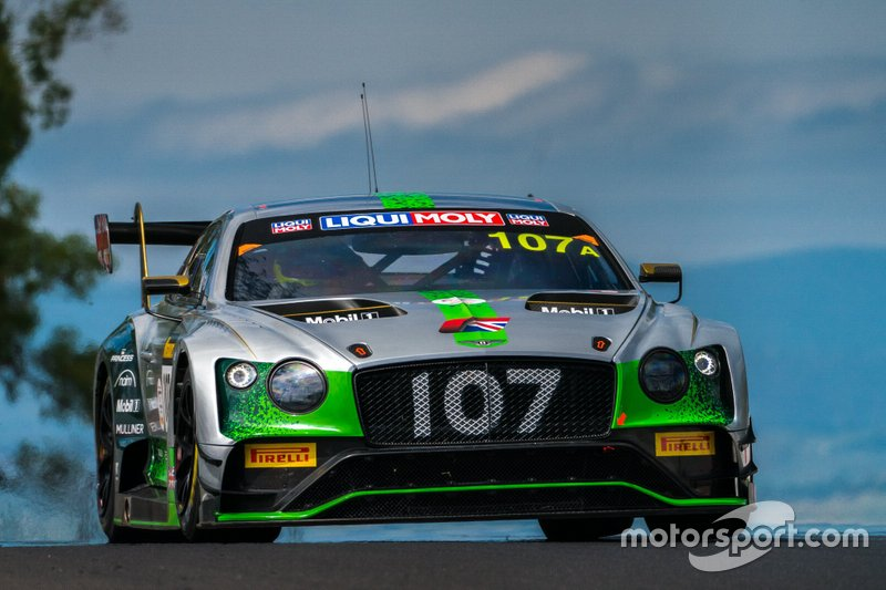 8. #107 Bentley Team M-Sport Bentley Continental GT3: Steven Kane, Jules Gounon, Jordan Pepper