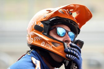 Сотрудник команды Chip Ganassi Racing Honda