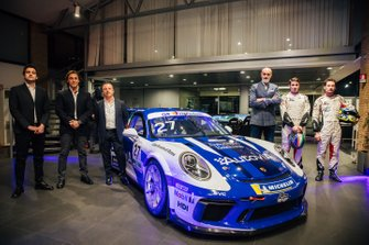 Presentazione della livrea della Porsche di Francesco Massimo De Luca, AB Racing