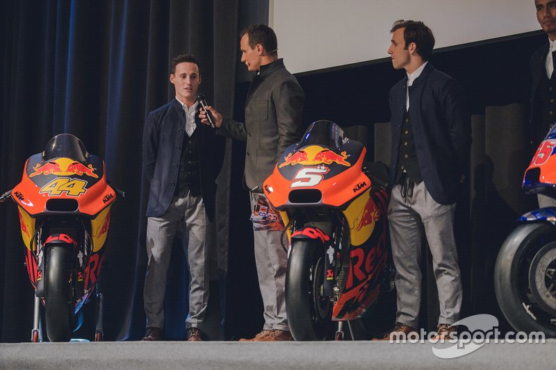 Pol Espargaro and Johann Zarco, KTM Team launch presentation