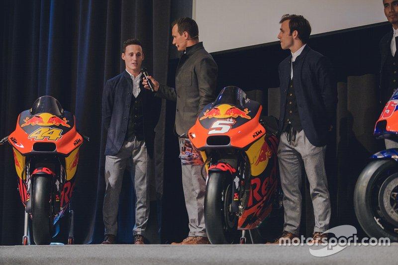 Pol Espargaro y Johann Zarco, KTM Team