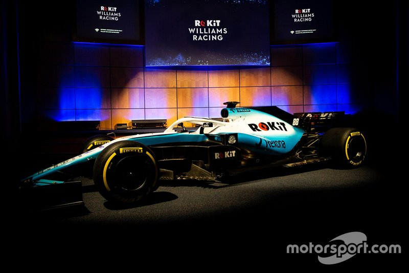 2019 : Williams-Mercedes FW42 (livrée)