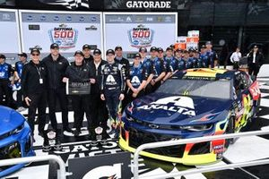 William Byron, Hendrick Motorsports, Chevrolet Camaro Axalta wins the pole for the Daytona 500