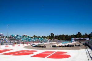 Jean-Eric Vergne, DS TECHEETAH, DS E-Tense FE19 Andre Lotterer, DS TECHEETAH, DS E-Tense FE19, Antonio Felix da Costa, BMW i Andretti Motorsport, BMW iFE.18