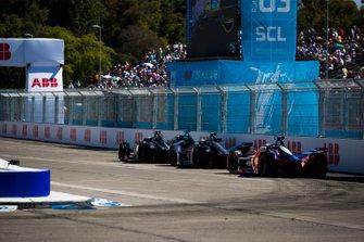 Sébastien Buemi, Nissan e.Dams, Nissan IMO1 Sam Bird, Envision Virgin Racing, Audi e-tron FE05, Pascal Wehrlein, Mahindra Racing, M5 Electro