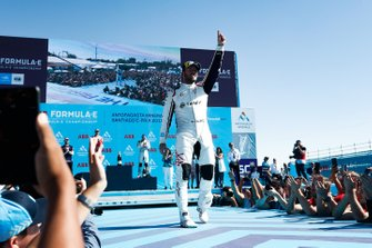 Sam Bird, Envision Virgin Racing, celebrates victory