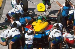Пит-стоп: Алессандро Наннини, Benetton B188 Ford