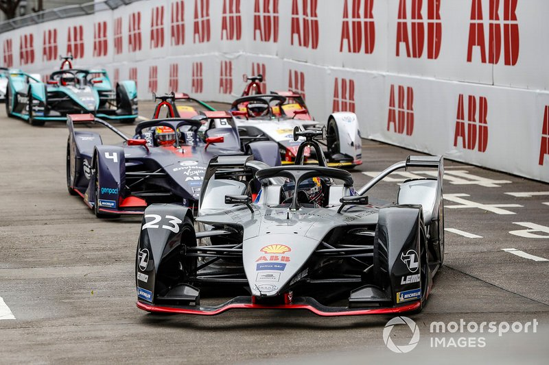 Sébastien Buemi, Nissan e.Dams, Nissan IMO1, Robin Frijns, Envision Virgin Racing, Audi e-tron FE05, Daniel Abt, Audi Sport ABT Schaeffler, Audi e-tron FE05