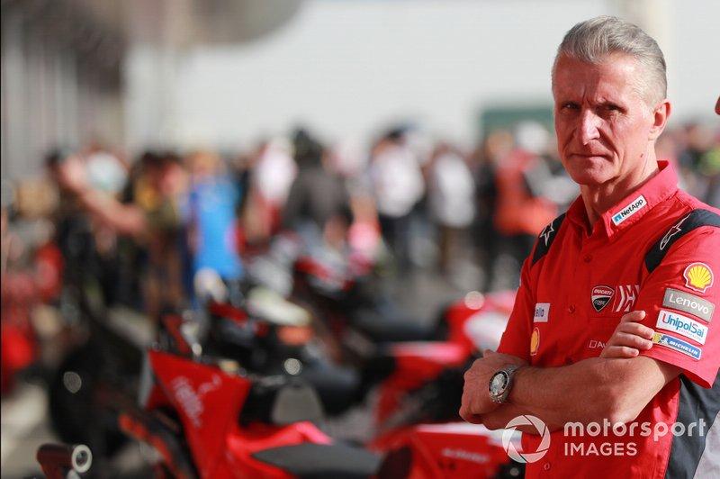 Paolo Ciabatti, director deportivo de Ducati Corse