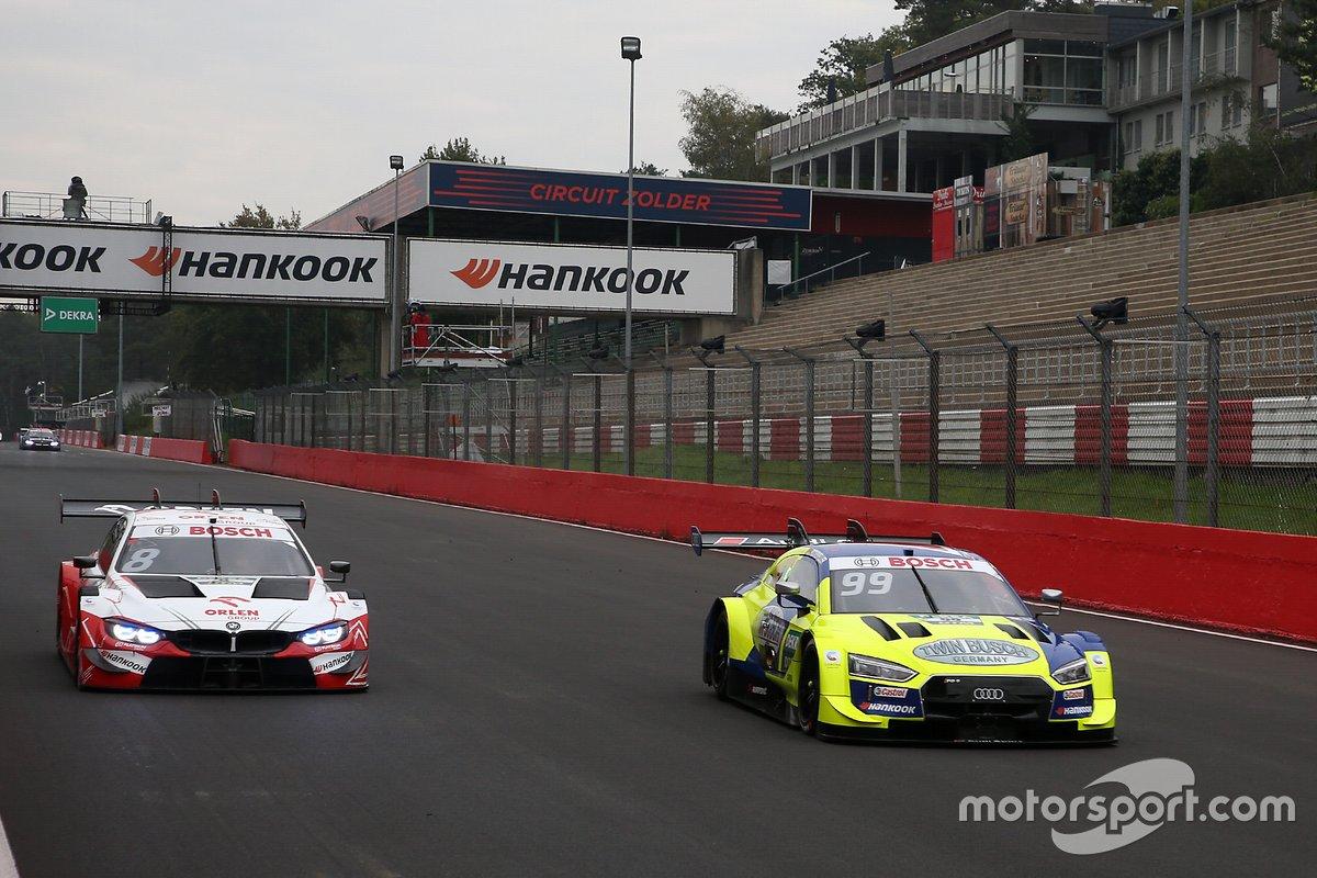 Robert Kubica, Orlen Team ART, BMW M4 DTM, Mike Rockenfeller, Audi Sport Team Phoenix, Audi RS 5 DTM