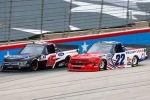 Tanner Gray, DGR-Crosley, Ford F-150 Ford Performance, Austin Wayne Self, AM Racing, Chevrolet Silverado Margins PAC/Go Texan