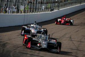 Ed Carpenter, Ed Carpenter Racing Chevrolet, Graham Rahal, Rahal Letterman Lanigan Racing Honda, Marcus Ericsson, Chip Ganassi Racing Honda