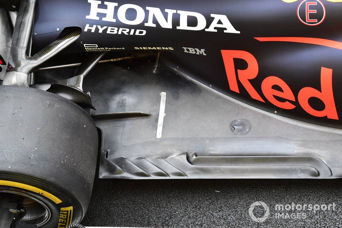 Red Bull Racing RB16 piso