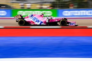 Lance Stroll, Racing Point RP20 on track