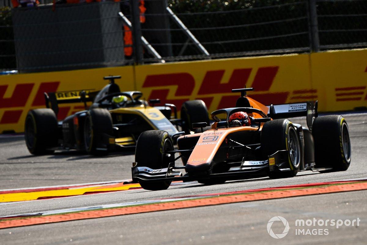 Jack Aitken, Campos Racing Guanyu Zhou, UNI-Virtuosi