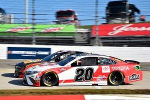 Erik Jones, Joe Gibbs Racing, Toyota Camry Toyota Camry, Ryan Preece, JTG Daugherty Racing, Chevrolet Camaro Louisiana Hot Sauce