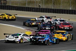 IMSA-Action in Laguna Seca