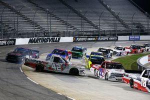 #42: Carson Hocevar, Niece Motorsports, Chevrolet Silverado GMPartsNow