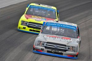 Grant Enfinger, ThorSport Racing, Ford F-150 Farm Paint/Curb Records and Matt Crafton, ThorSport Racing, Ford F-150 Menards
