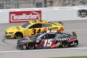 Brennan Poole, Premium Motorsports, Chevrolet Camaro Michael McDowell, Front Row Motorsports, Ford Mustang Love's Travel Stops