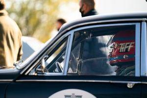 Tiff Needell in Jaguar Mk2. St Mary's Trophy