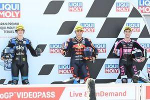 Celestino Vietti Ramus, Sky Racing Team VR46, Raul Fernandez, Red Bull KTM Ajo, Tony Arbolino, Snipers Team