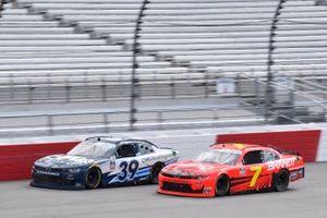 Justin Allgaier, JR Motorsports, Chevrolet Camaro BRANDT Ryan Sieg, RSS Racing, Chevrolet Camaro CMRRoofing.com