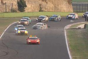 L'incidente in Gara 1 di Eric Scalvini, Cupra TCR, Scuderia del Girasole by Cupra Racing