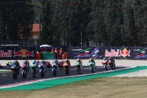 Moto3-Action in Misano