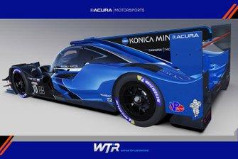 2021 Acura ARX-05 Wayne Taylor Racing