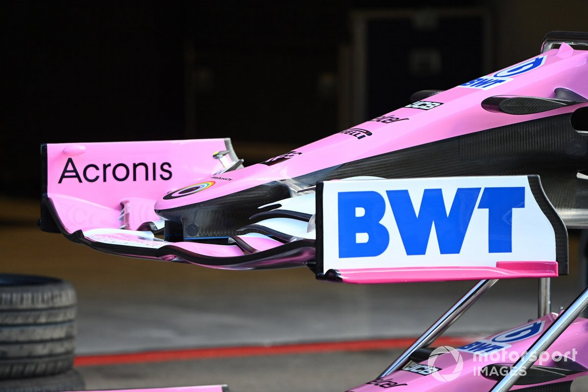 Racing Point RP20: Frontflügel