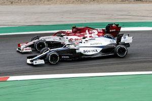 Антонио Джовинацци, Alfa Romeo Racing C39, Джордж Расселл, Williams FW43