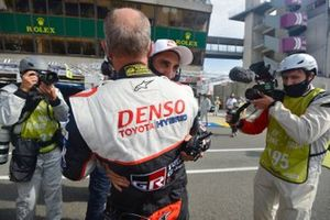 Winner Sebastien Buemi, Toyota Gazoo Racing