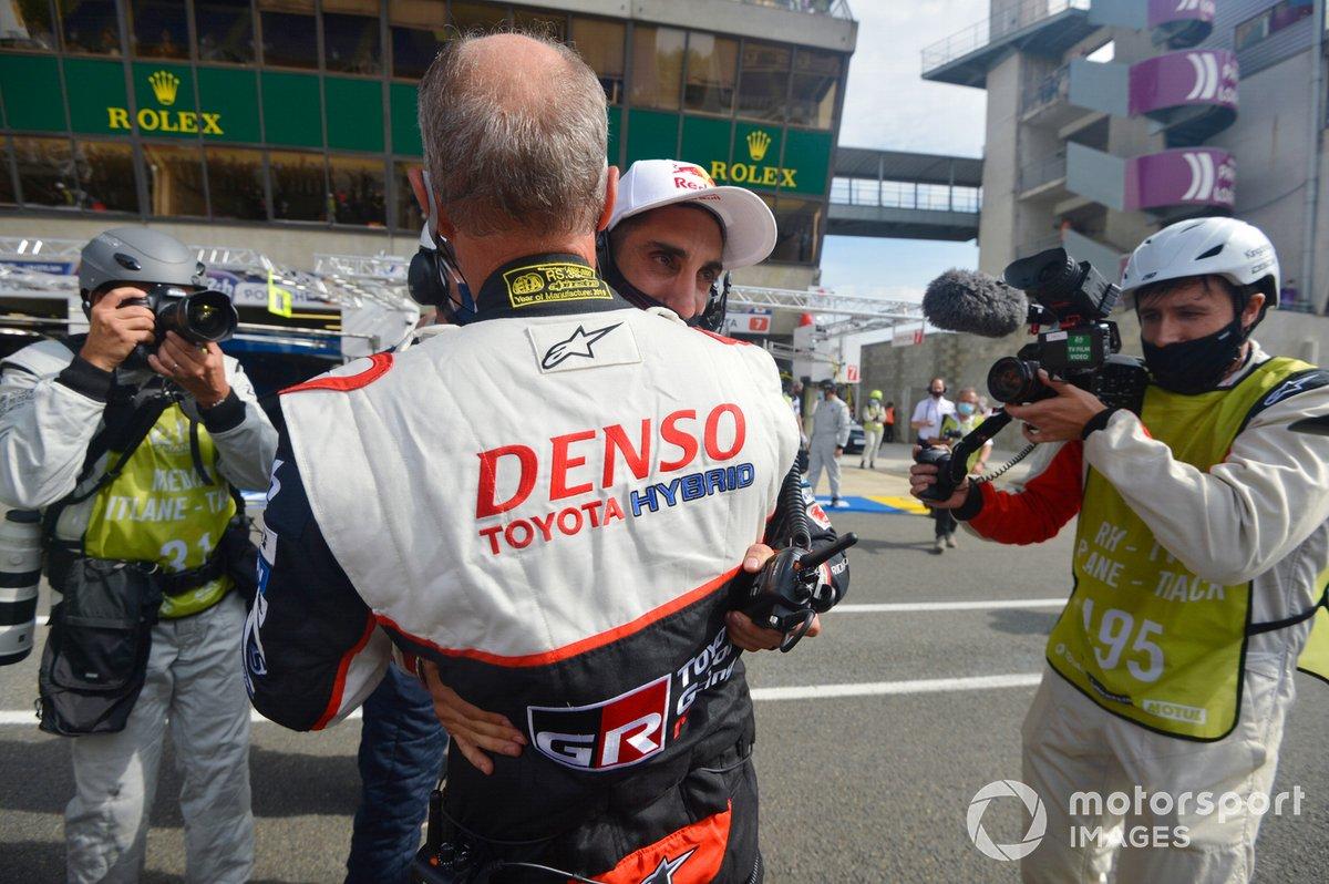Ganador Sebastien Buemi, Toyota Gazoo Racing