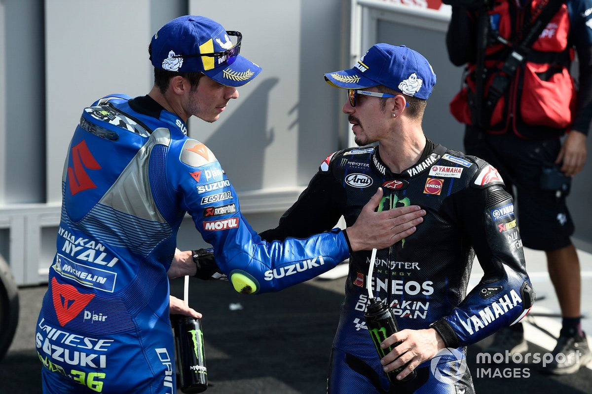 Maverick Vinales, Yamaha Factory Racing, Joan Mir, Team Suzuki MotoGP