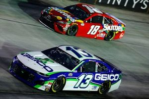 Ty Dillon, Germain Racing, Chevrolet Camaro GEICO, Kyle Busch, Joe Gibbs Racing, Toyota Camry Skittles