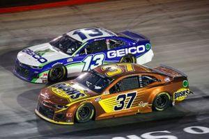 Ryan Preece, JTG Daugherty Racing, Chevrolet Camaro Bush's Beans, Ty Dillon, Germain Racing, Chevrolet Camaro GEICO