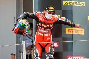 Ganador Chaz Davies, ARUBA.IT Racing Ducati
