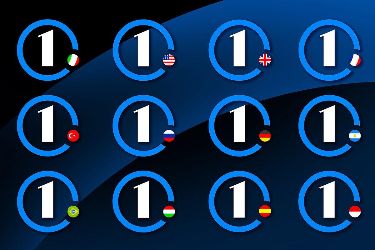 Logos das edições de cada país
