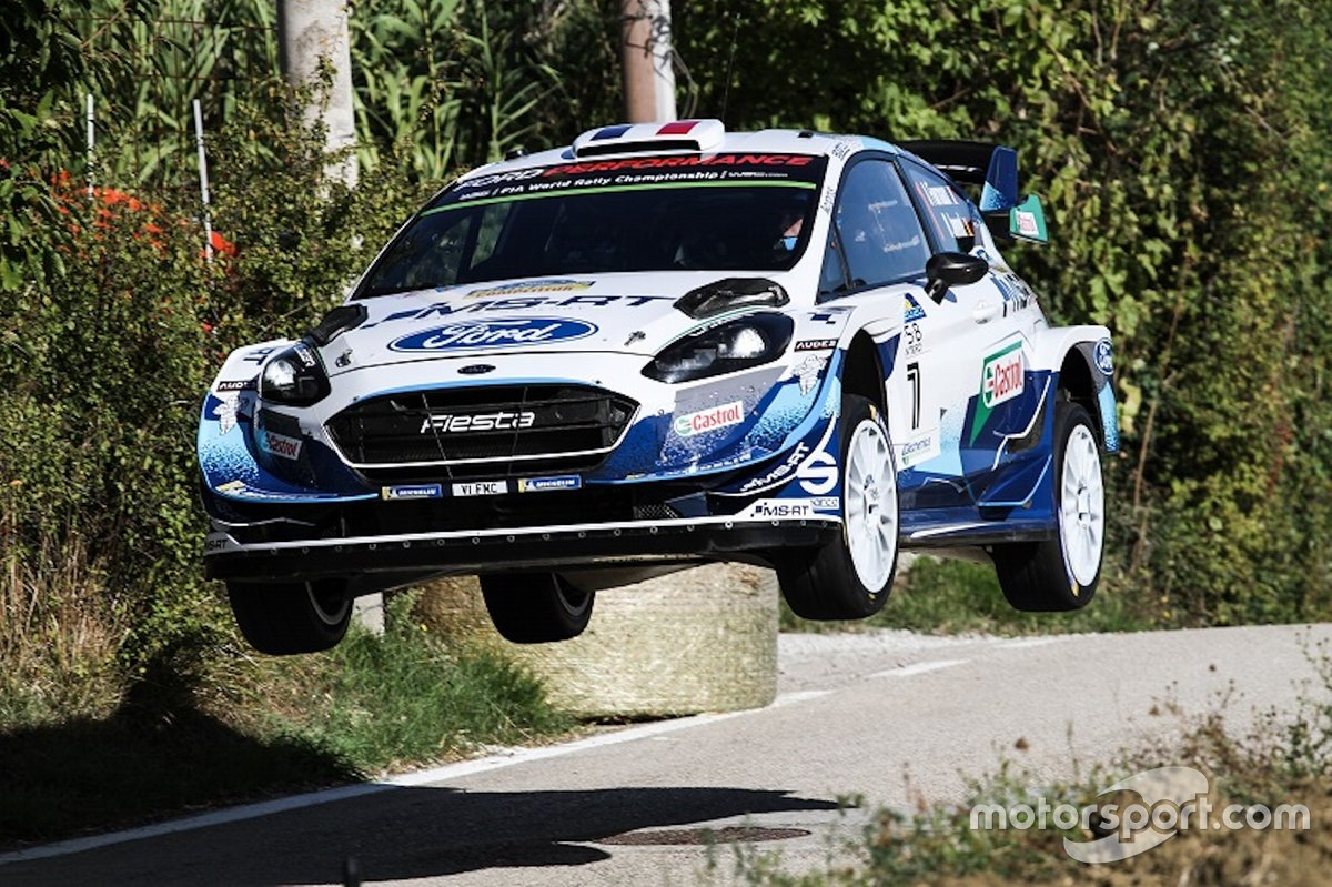 Adrien Formaux, Reanud Jamoul, Ford Fiesta WRC Plus. M-Sport World Rally Team