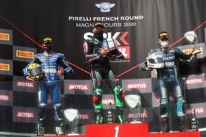 Podium: 1. Lucas Mahias, 2. Kyle Smith, 3. Hannes Soomer