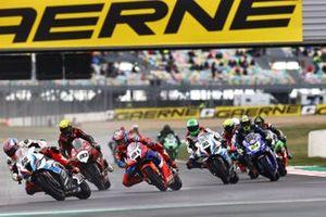 Tom Sykes, BMW Motorrad WorldSBK Team, Leon Haslam, Team HRC, Sylvain Barrier, Brixx Performance, Eugene Laverty, BMW Motorrad WorldSBK Team