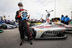 Ganador de la pole Carrera 1, Will Power, Team Penske Chevrolet