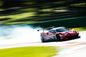 #74 Kessel Racing Ferrari F488 GTE EVO: Michael Broniszewski, Nicola Cadei, David Perel