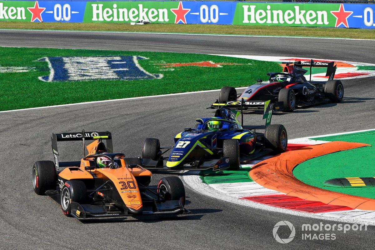 Alessio Deledda, Campos Racing, David Schumacher, Carlin y Pierre-Louis Chovet, Hitech Grand Prix