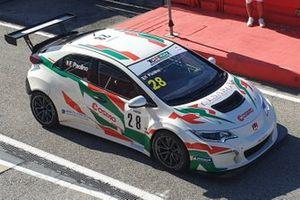 Federico Paolino, B.D. Racing, Honda Civic TCR