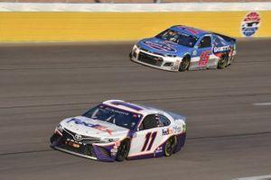 #11: Denny Hamlin, Joe Gibbs Racing, Toyota Camry FedEx Office #15: Brennan Poole, Premium Motorsports, Chevrolet Camaro Goettl