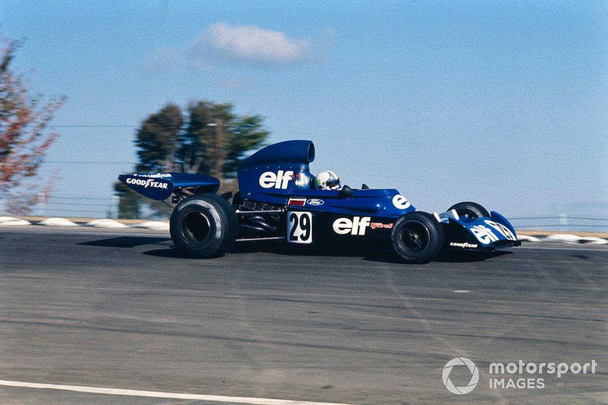 Chris Amon, Tyrrell 005 Ford