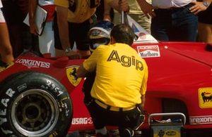 Michele Alboreto, Ferrari 126 C4