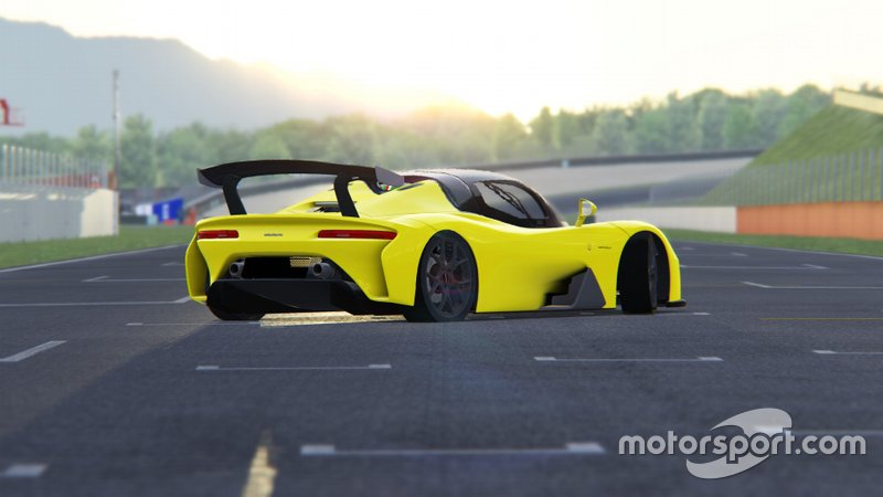 Dallara Esport, Screenshot Dallara Stradale al Mugello